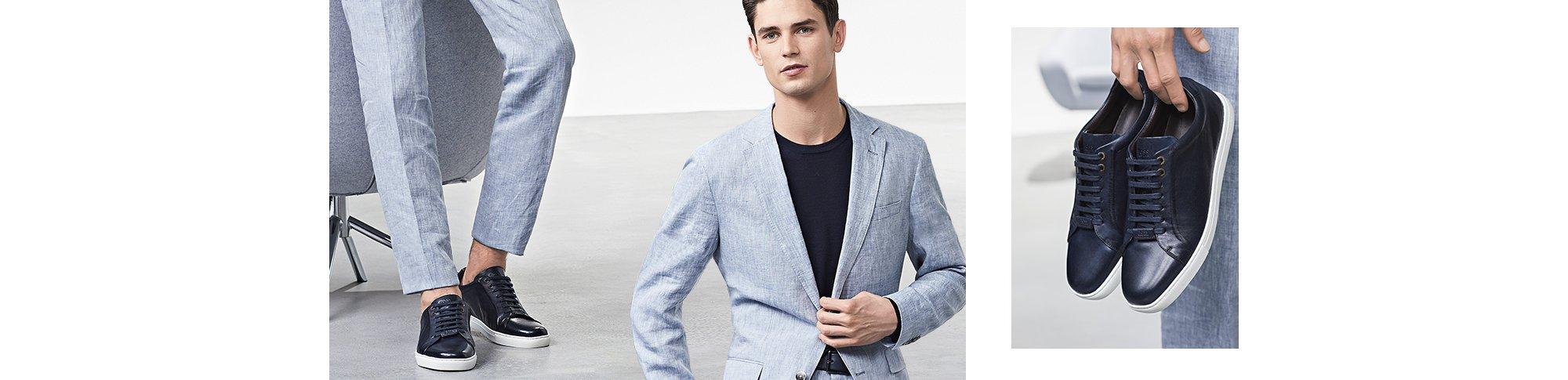 Boss How To Anzug Und Schuhe Farblich Abstimmen Hugo Boss