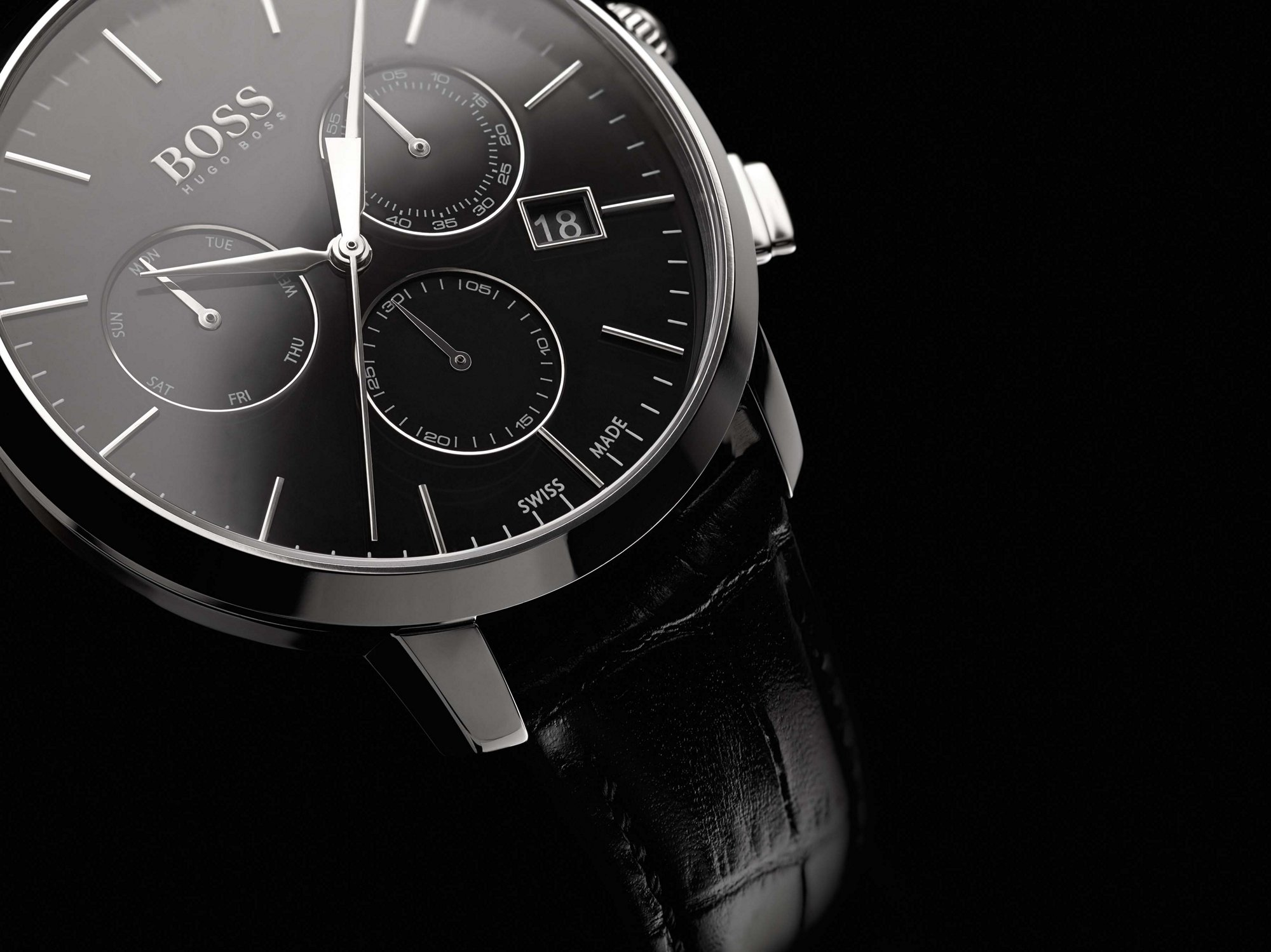Orologio nero by BOSS