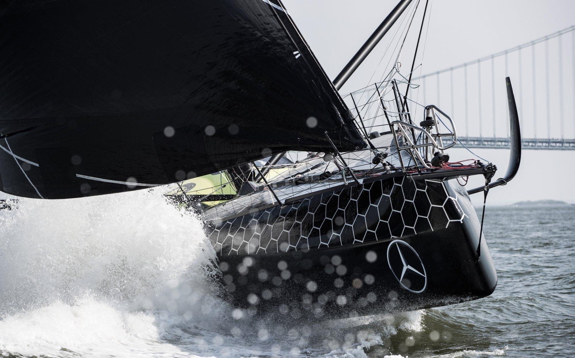 The HUGO BOSS yacht