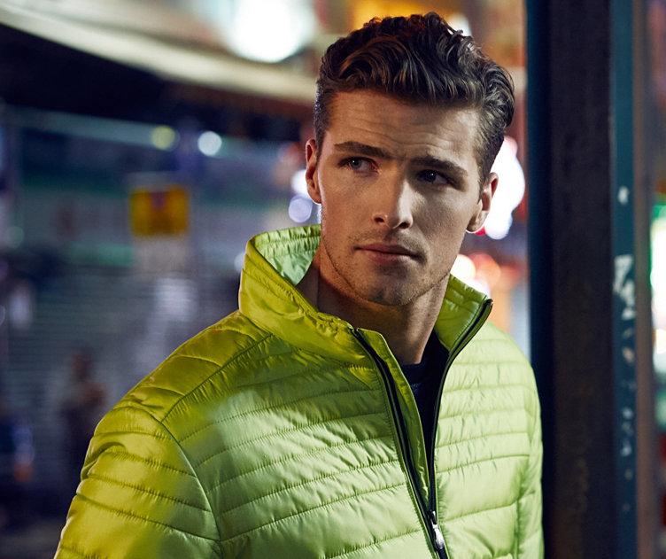Light green outerwear by BOSS Green
