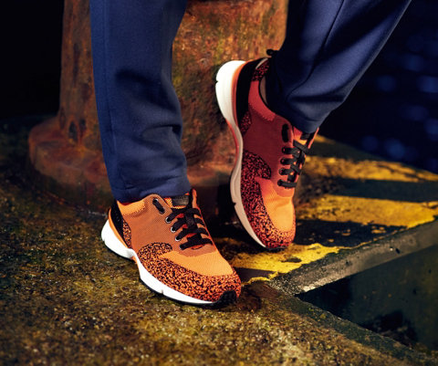Orange shoes by BOSS Green