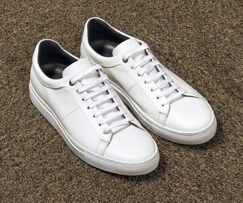 Bruine en grijze sneakers van BOSS