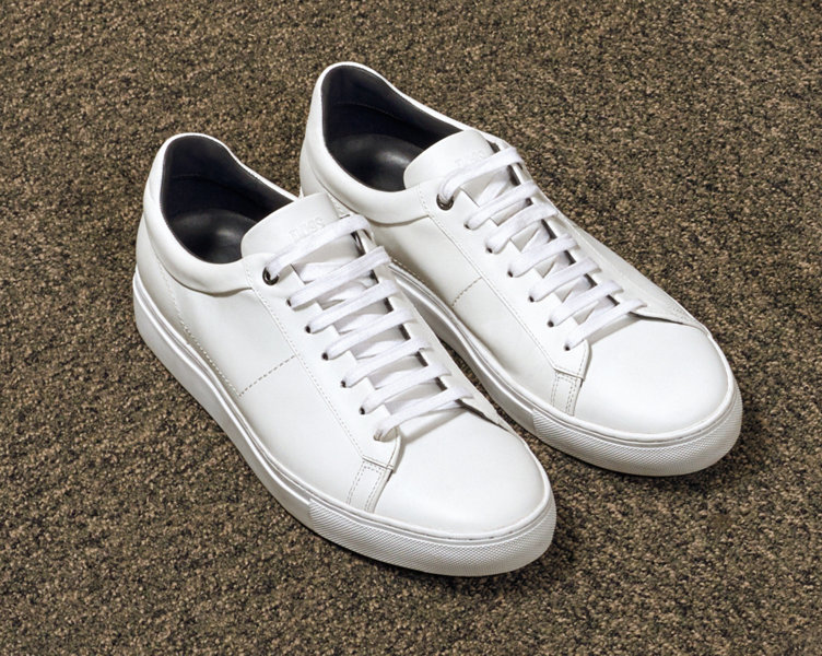 White trainers by BOSS