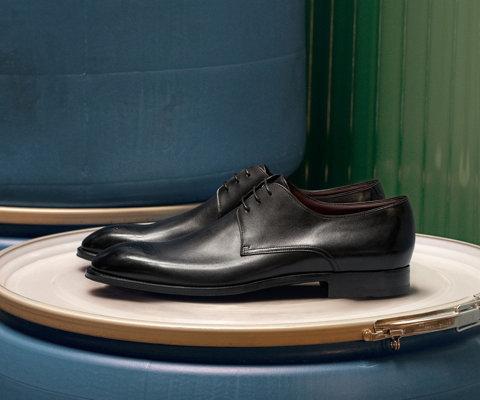 Zwarte zakelijke schoenen van BOSS