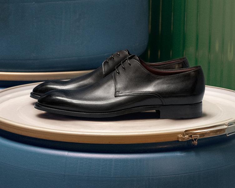 Schwarze Business-Schuhe von BOSS
