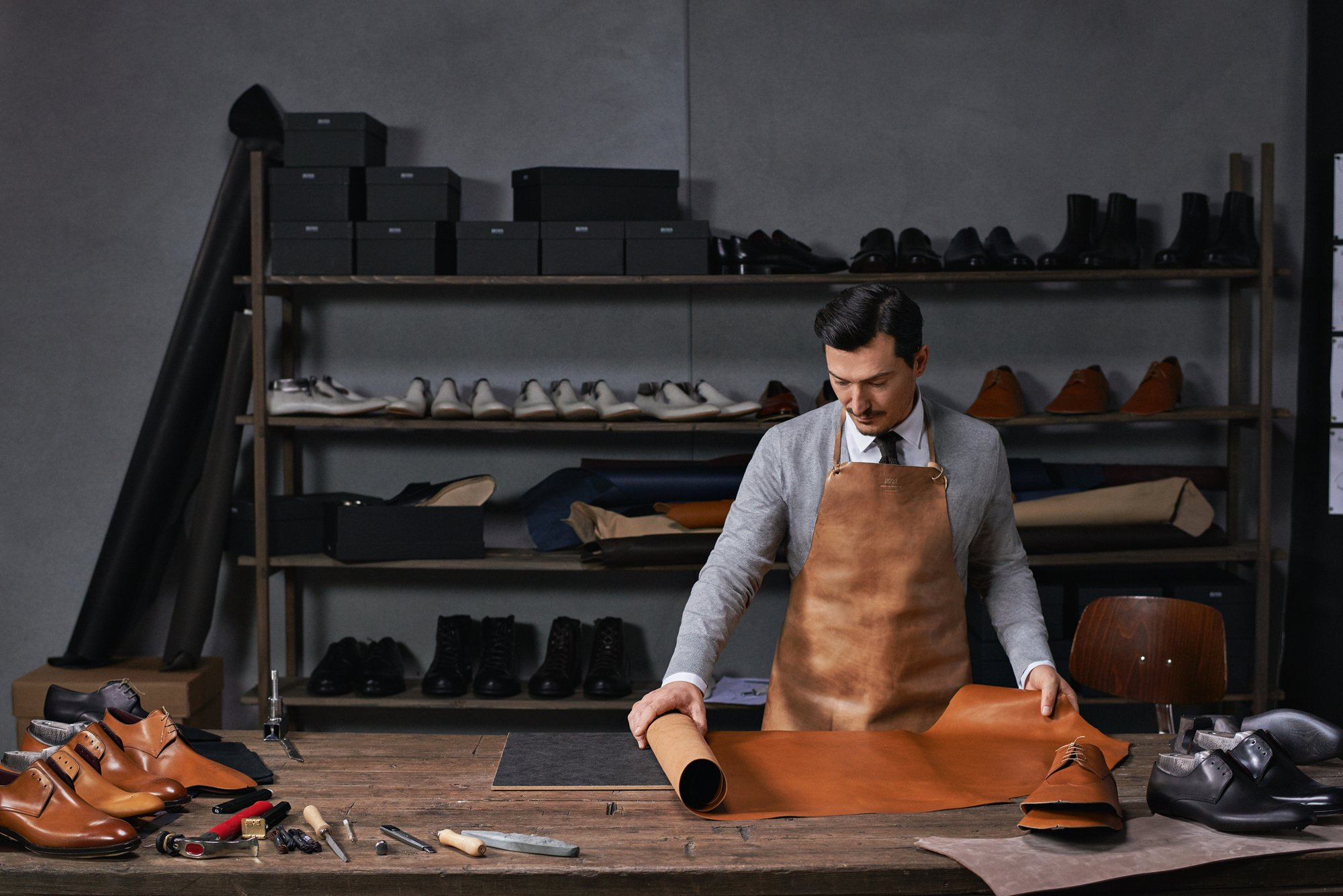 Hugo Boss craftsman