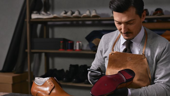 La confection de chaussures BOSS