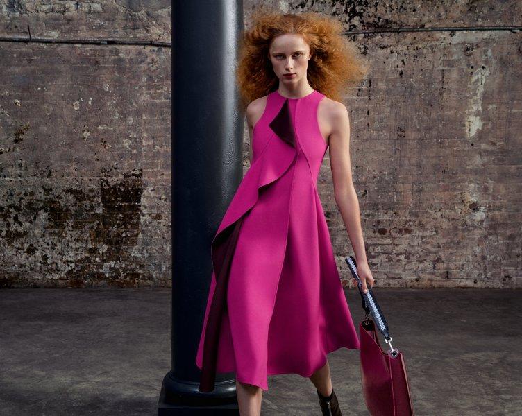 Pink dress by BOSS