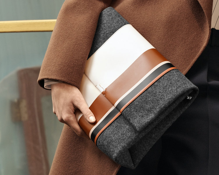 Striped bag by BOSS