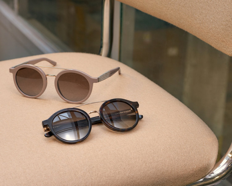 Two sunglasses by BOSS