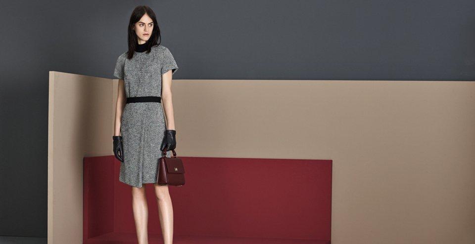 Grey dress by BOSS