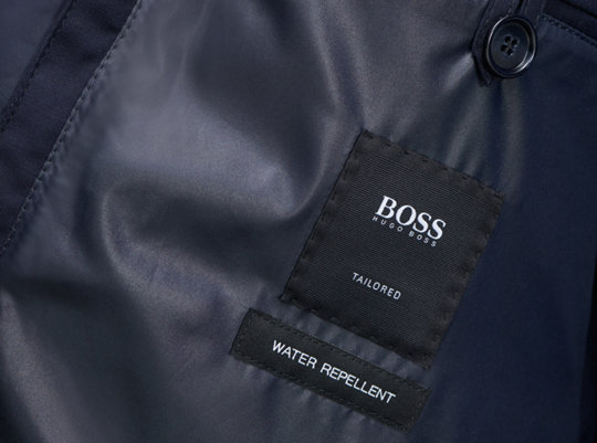 Lining of jacket by BOSS