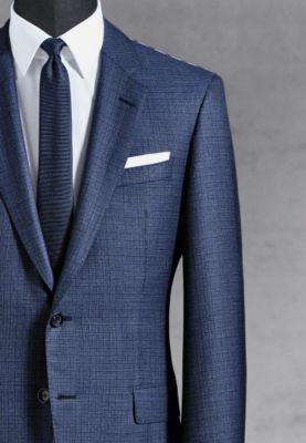 BOSS suit guide for finding your perfect fit