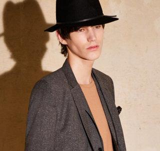 Black cardigan, jacket and white shirt by HUGO