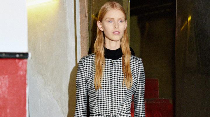 Patterned jacket by HUGO