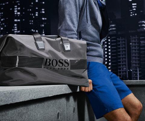 Graue Tasche von BOSS Green