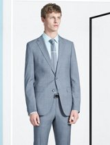 Grey suit by BOSS
