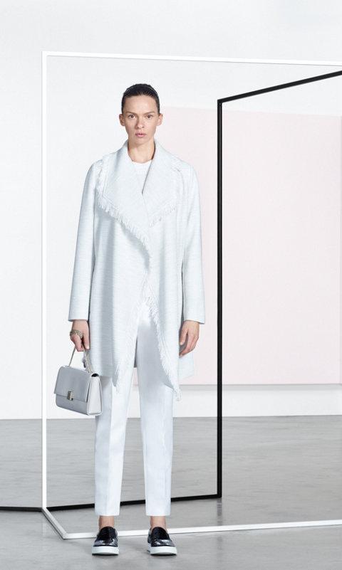 White knitwear by BOSS