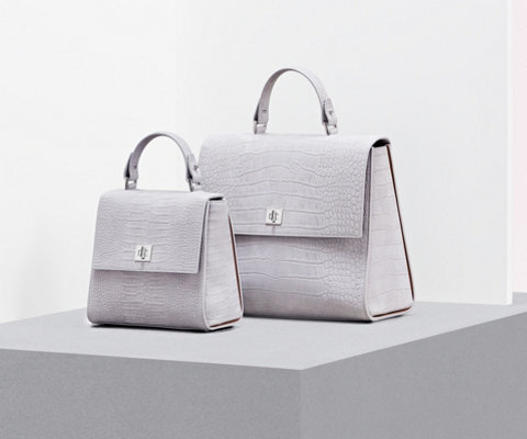 Pastel grey Bespoke bags by BOSS