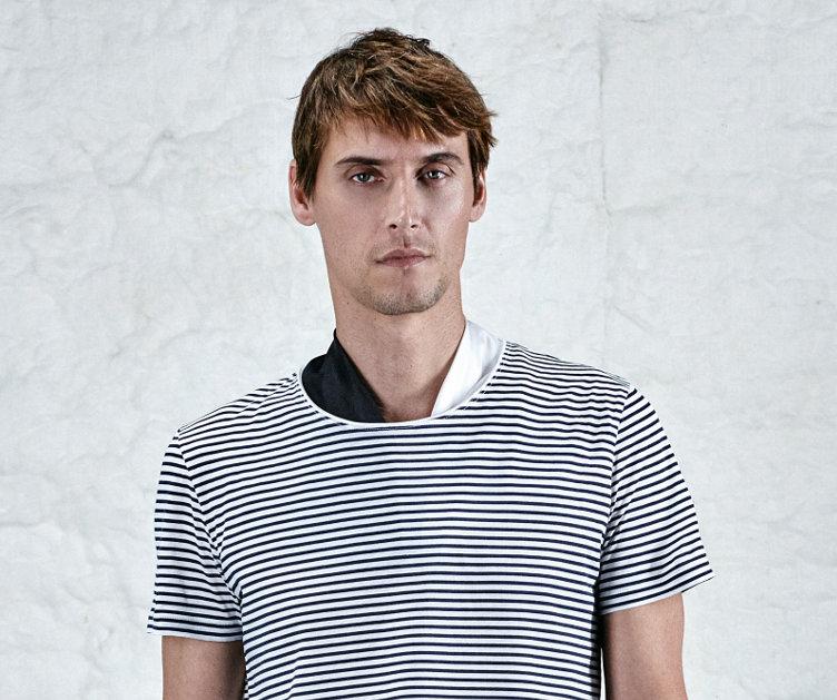 White t-shirt by HUGO