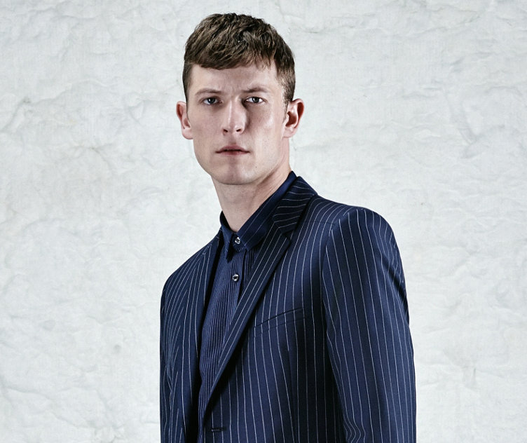 Striped tailored jacket by HUGO