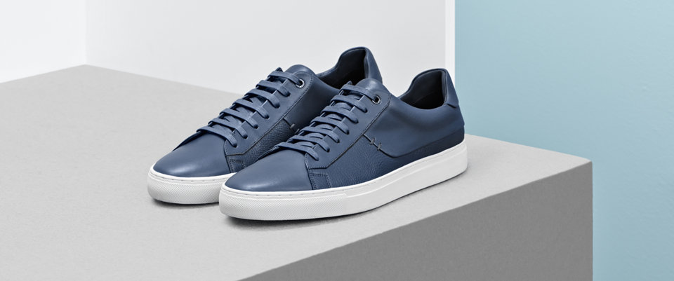 Blue Sneakers by BOSS