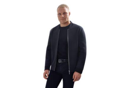 Slim-fit Mercedes-Benz jacket in cotton