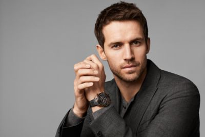 Andrew Cooper for BOSS watches