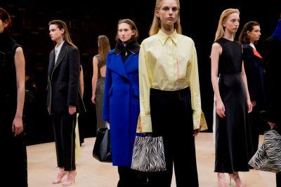 De Gallery-collectie van BOSS Womenswear Herfst/Winter 2018