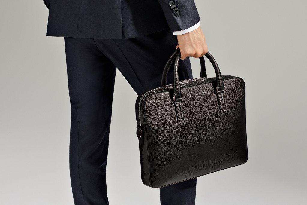 5e2ce301addd Black Signature bag by BOSS Black Signature bag by BOSS. Signature style  for the modern man