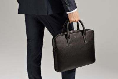Black mens bag by BOSS