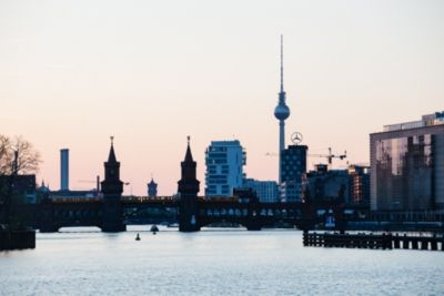 Skyline in Berlin