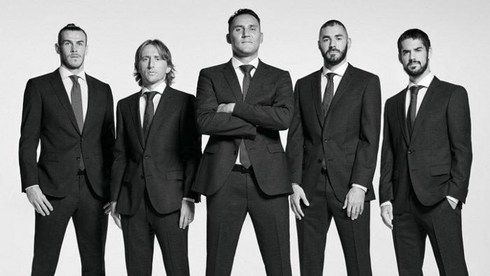 Professional football club Real Madrid C.F. dressed by BOSS