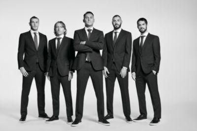 Professionele voetbalclub Real Madrid C.F., gekleed door BOSS