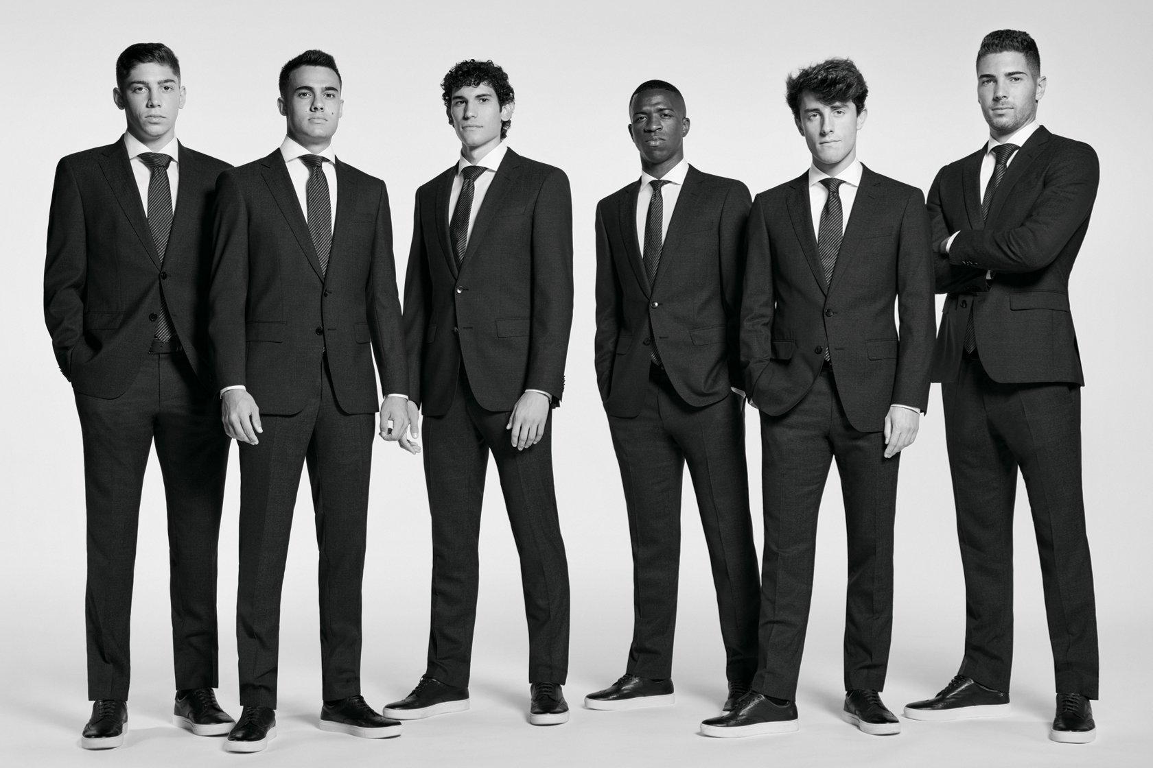 f7352b6a20a4ef Real Madrid C. F. - Players wearing BOSS   Suits & casual looks