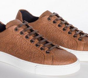 0326105c804 Brown Pinatex shoe by BOSS menswear ...