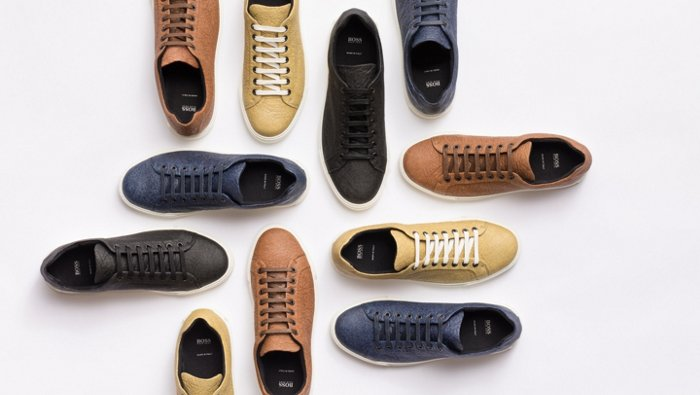 Sneakers by Piñatex® and BOSS