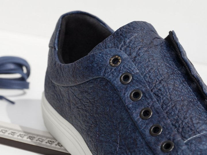 6cb799ce005 Blue pinatex shoe by BOSS ...