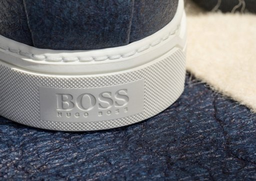 9a23cf424a blue Pinatex shoes by BOSS blue Pinatex shoes by BOSS