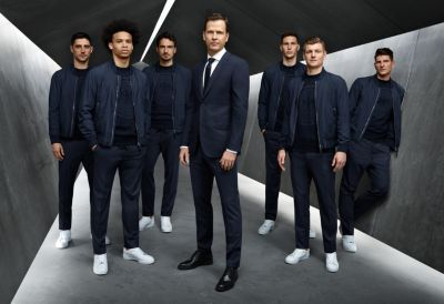 DFB team in BOSS suits
