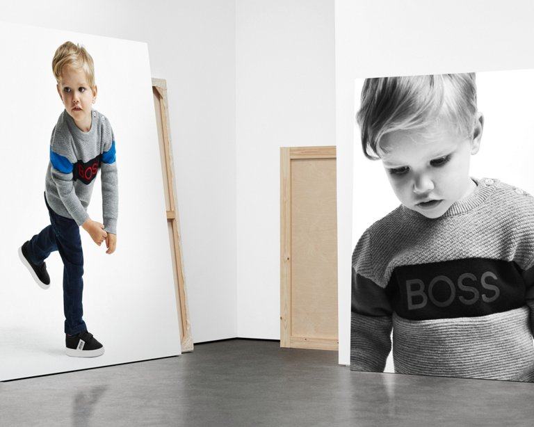 on sale ca416 22519 HUGO BOSS Online Store: Schicke und bequeme Kindermode