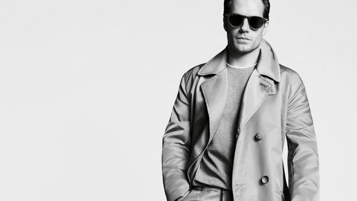 Henry Cavill editorial by BOSS
