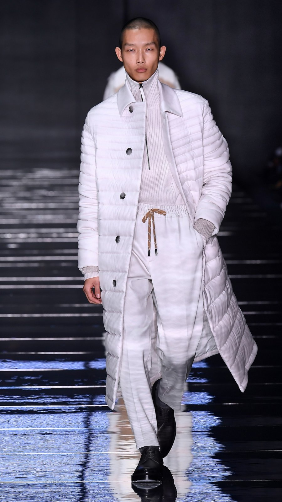 05e7390bf Runway look from the BOSS fashion show Fall/Winter 2019 ...