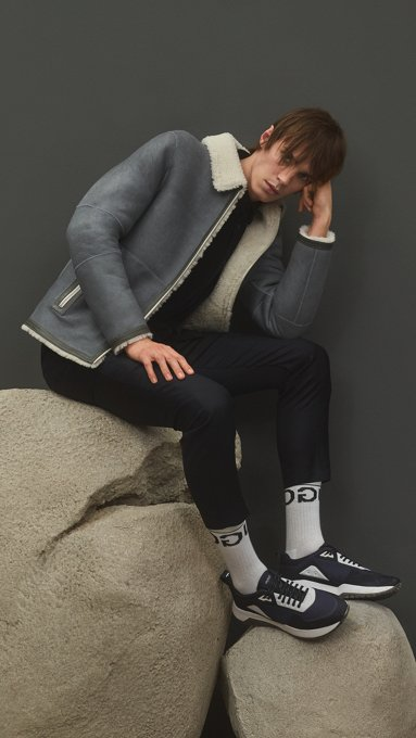 Gabriel Hugo Boss Blazer, Diesel Pants, Adidas Shoes
