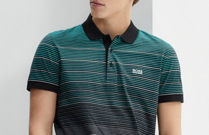 712f52db Polo shirts for men | BOSS Green is now BOSS
