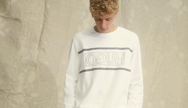 202f1ff36 Men's HUGO Reversed Sweater, hats & more products | HUGO BOSS