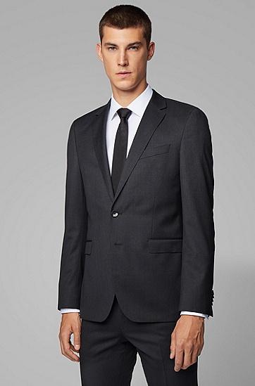 超修身版新羊毛珠边线外套:'Ryan_cyl',  021_暗灰色