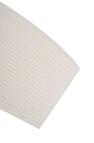 女士舒适休闲长袖针织衫,  115_淡白色