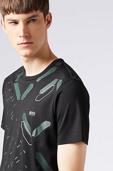 男士运动休闲T恤,  001_黑色