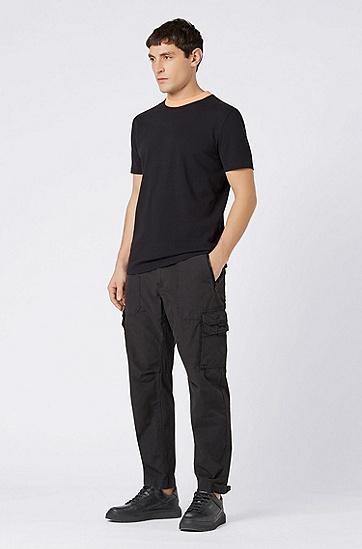 男士舒适休闲T恤,  001_黑色